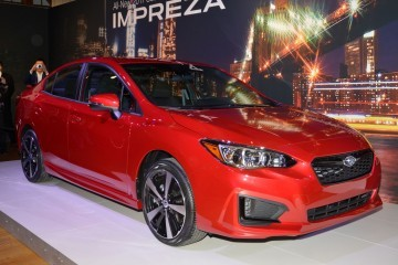 2017 Subaru IMPREZA SPORT and 5-Door - Live NY Debut