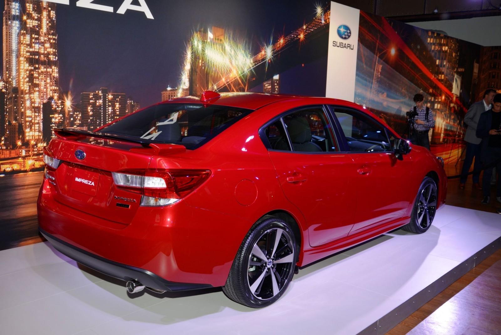 2017 Subaru IMPREZA SPORT And 5 Door Live NY Debut