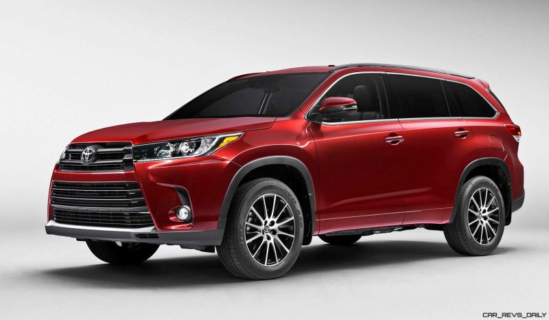 2017 Toyota HIGHLANDER Preview - Revised Styling, New V6 and 8-Speed Automatic 2017 Toyota HIGHLANDER Preview - Revised Styling, New V6 and 8-Speed Automatic