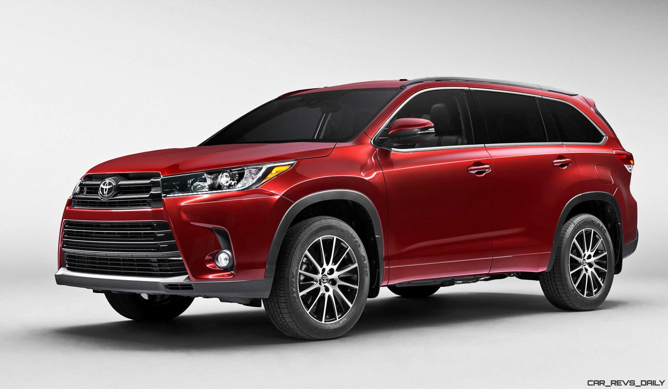 highlander toyota v6 cars revs daily revised styling automatic speed preview