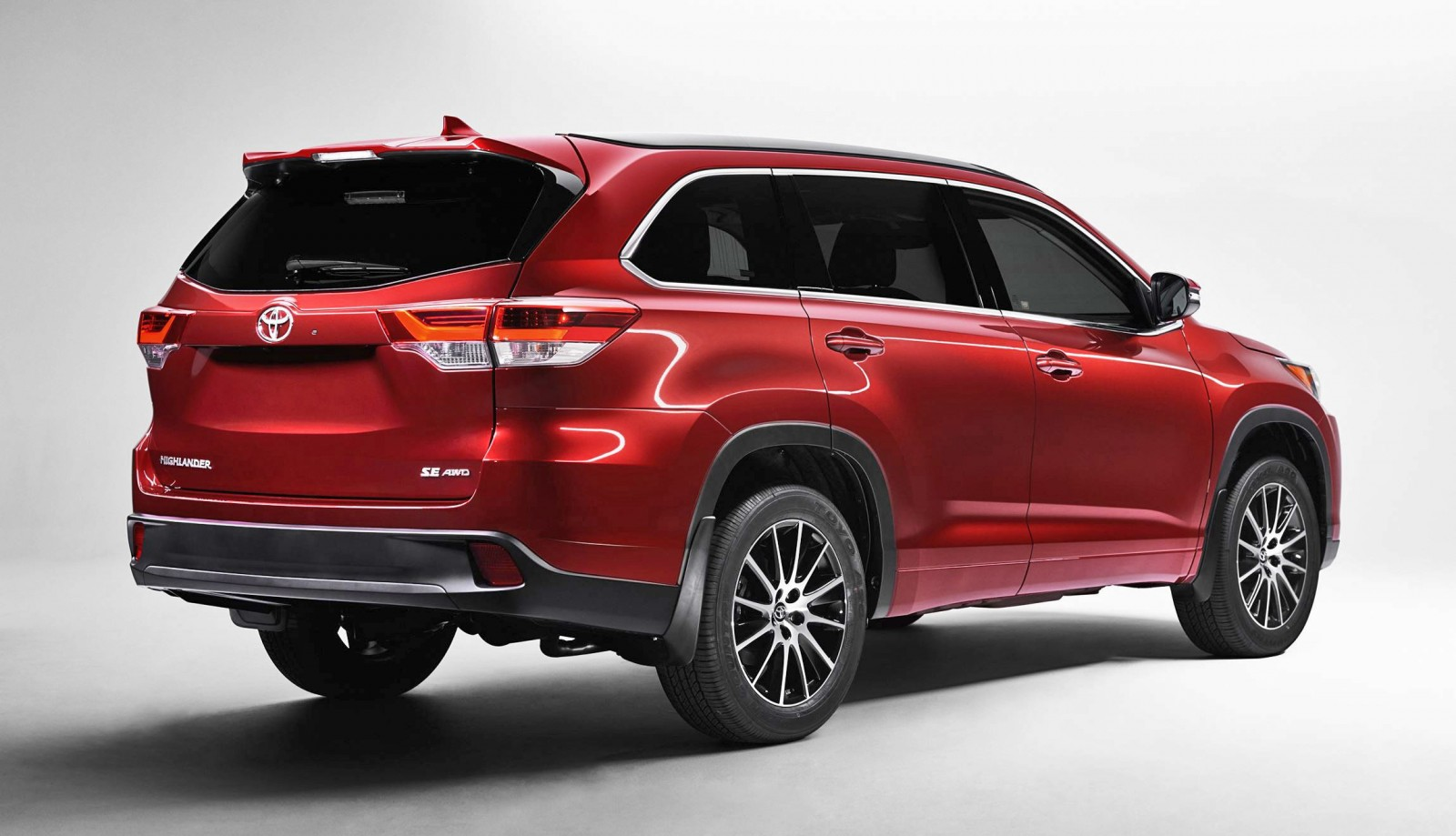 2017 toyota highlander preview revised styling new v6 and 8 speed automatic car revs. Black Bedroom Furniture Sets. Home Design Ideas