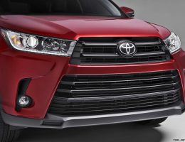 2017 Toyota HIGHLANDER Preview – Revised Styling, New V6 and 8-Speed Automatic