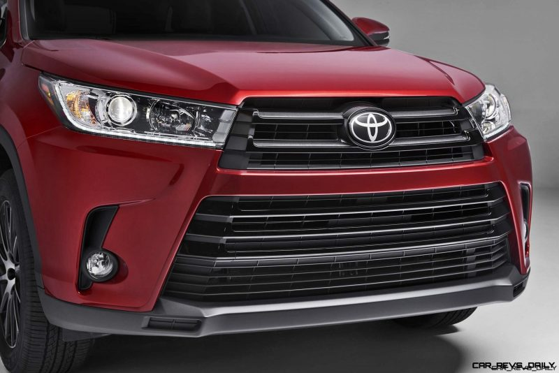 2017 Toyota HIGHLANDER Preview - Revised Styling, New V6 and 8-Speed ...