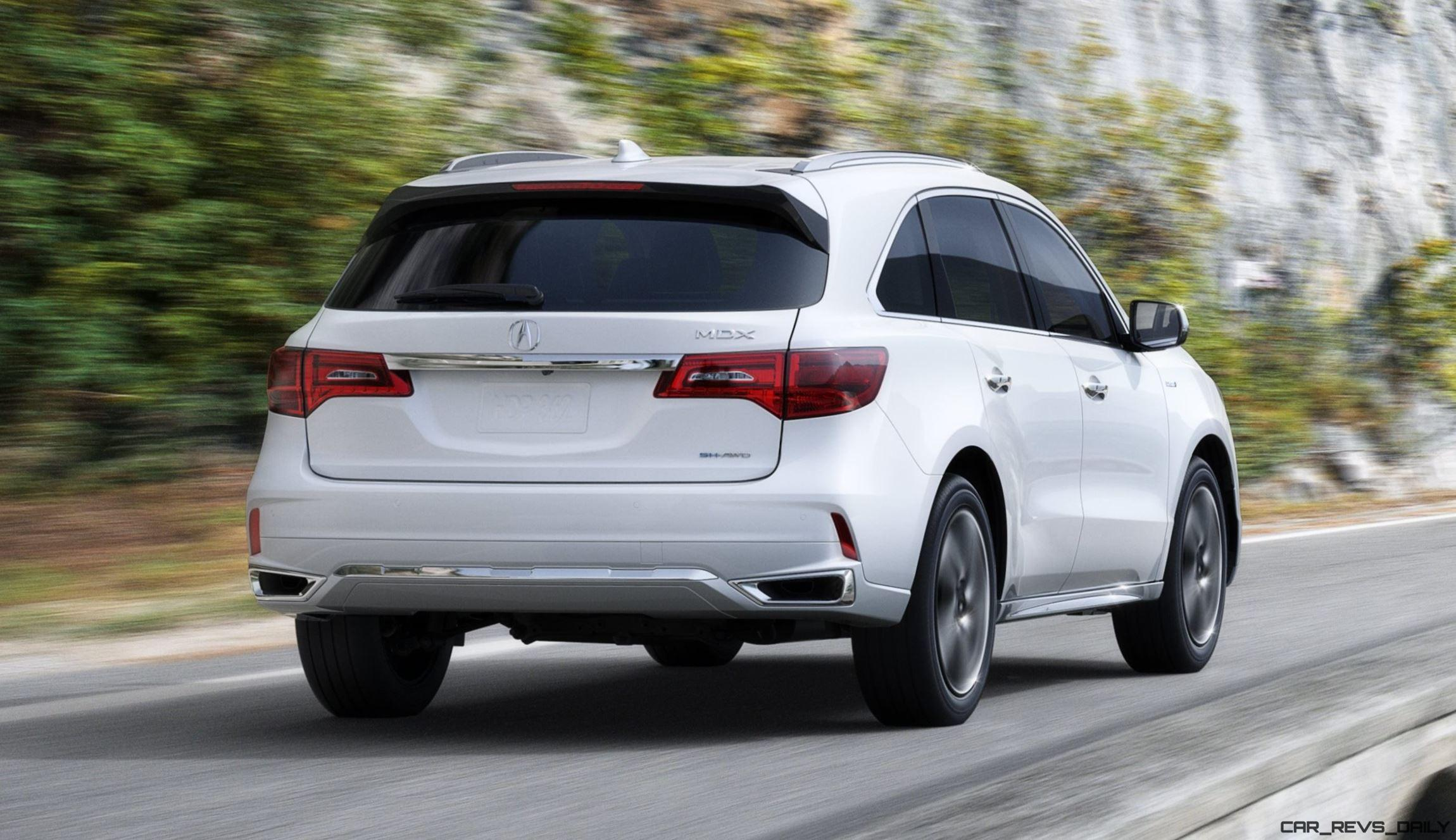 2017 acura mdx sport hybrid leads updated range 50 images car revs. Black Bedroom Furniture Sets. Home Design Ideas