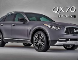 New York SoM! 2017 Infiniti QX70 Limited Special Pips Big Debuts with Early Reveal