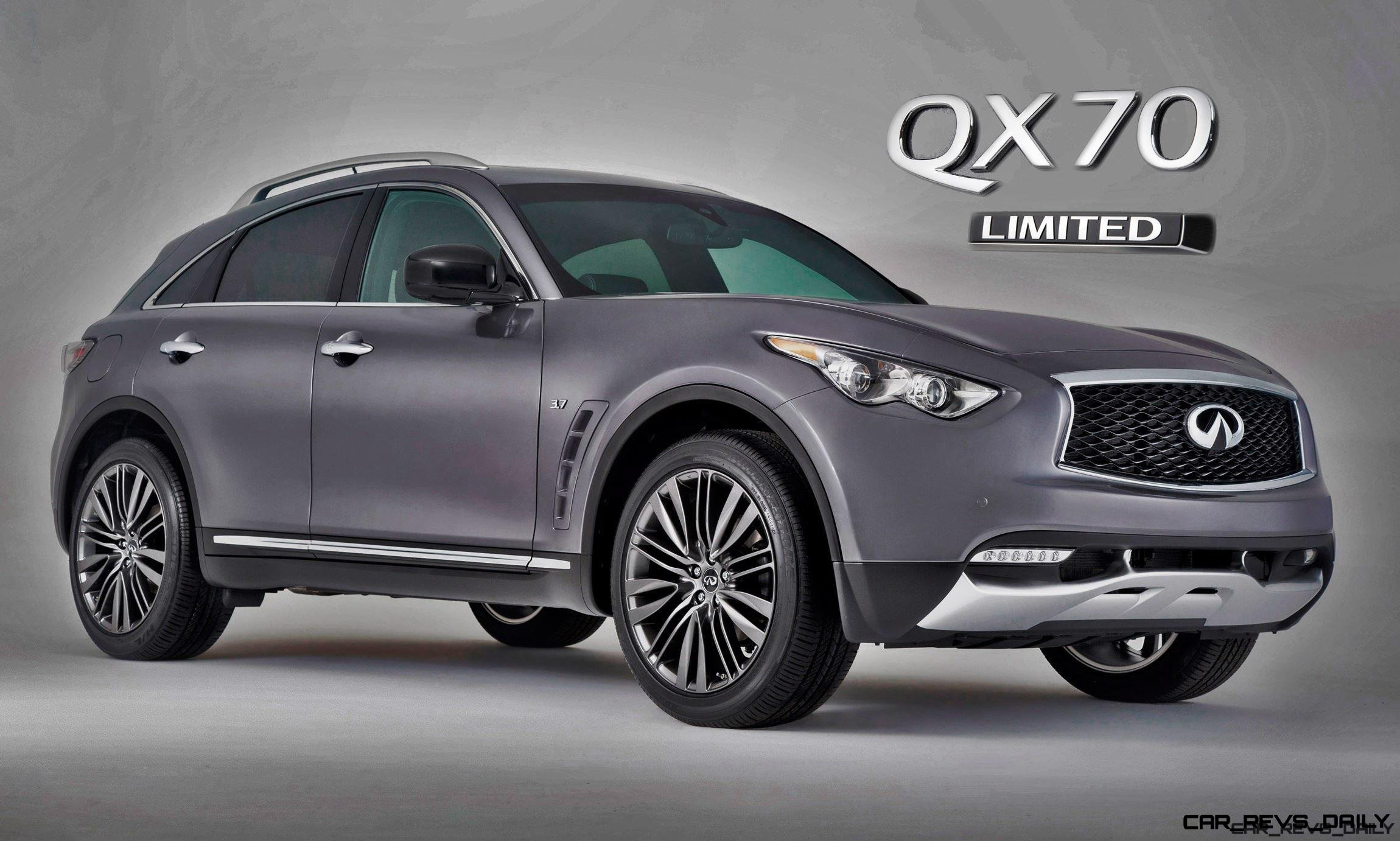 2017 Infiniti Qx70 Limited Special Pips Debuts With Early Reveal Car Ping Revs Daily