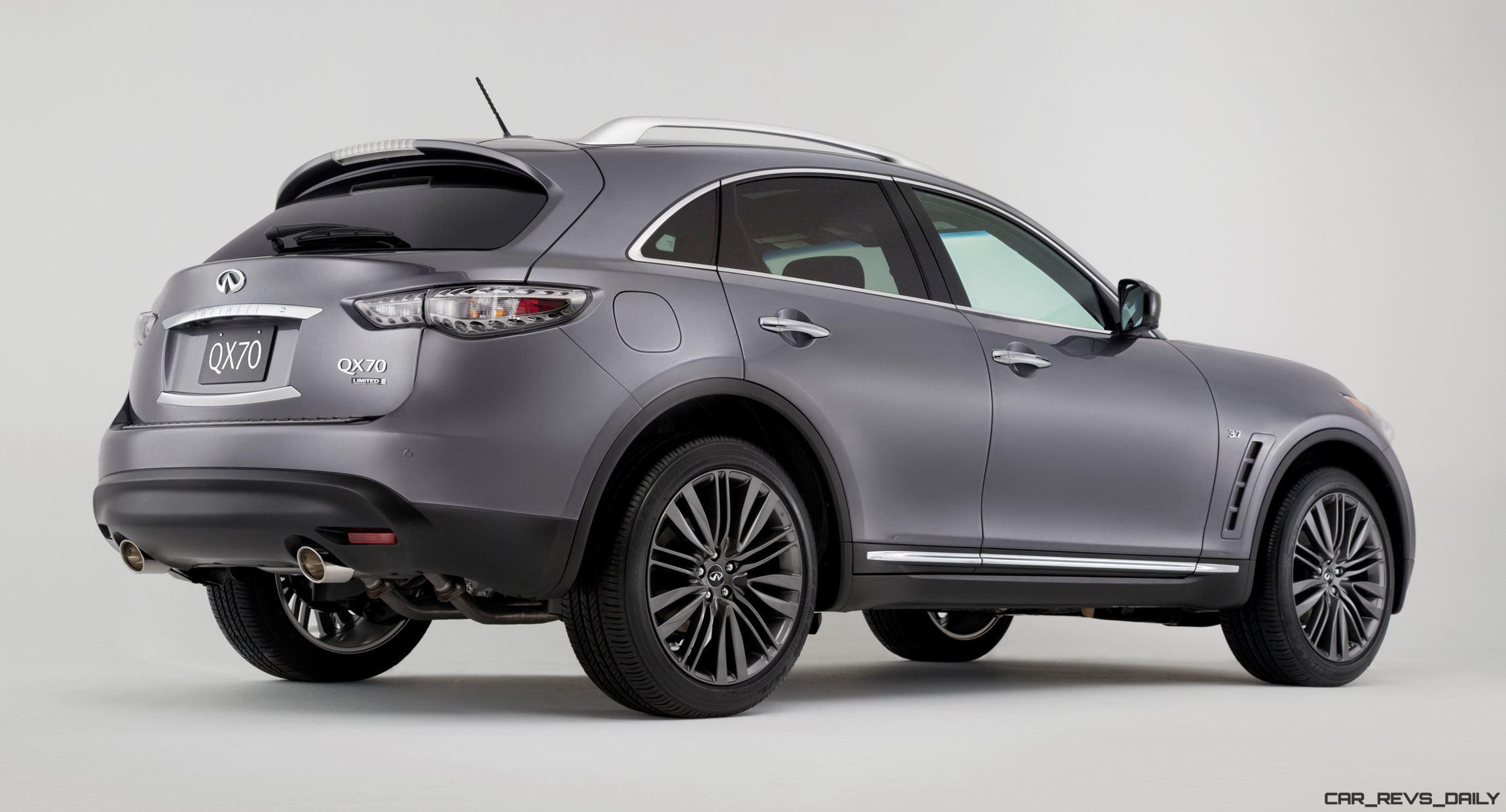 2017 infiniti qx70 limited live from new york. Black Bedroom Furniture Sets. Home Design Ideas