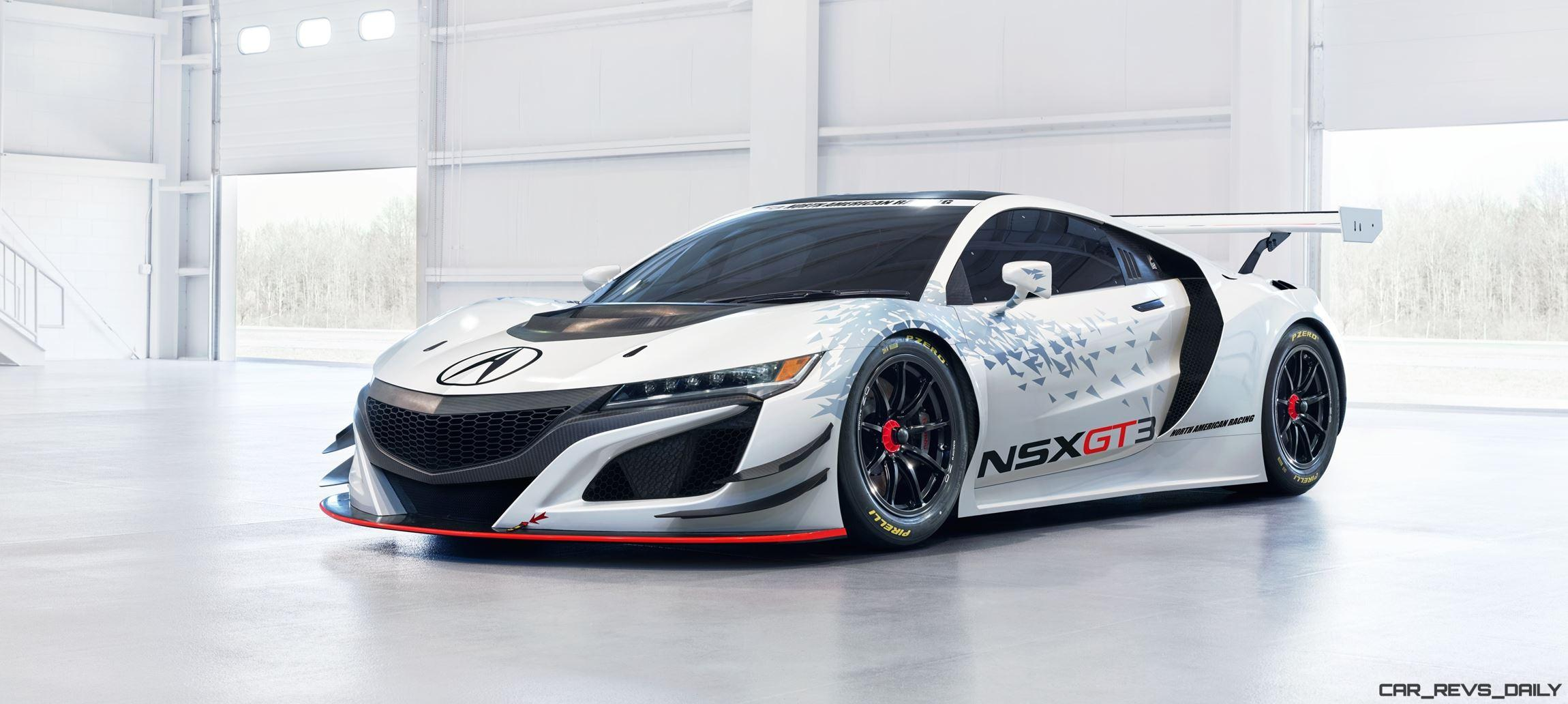 2017 Acura Nsx Gt3 V6tt Rwd Racecar Is Fia Ready Video 2000 Chevy Camaro Fuse Box