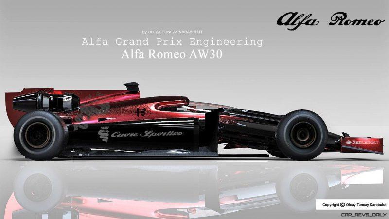Alfa Romeo AW30 2