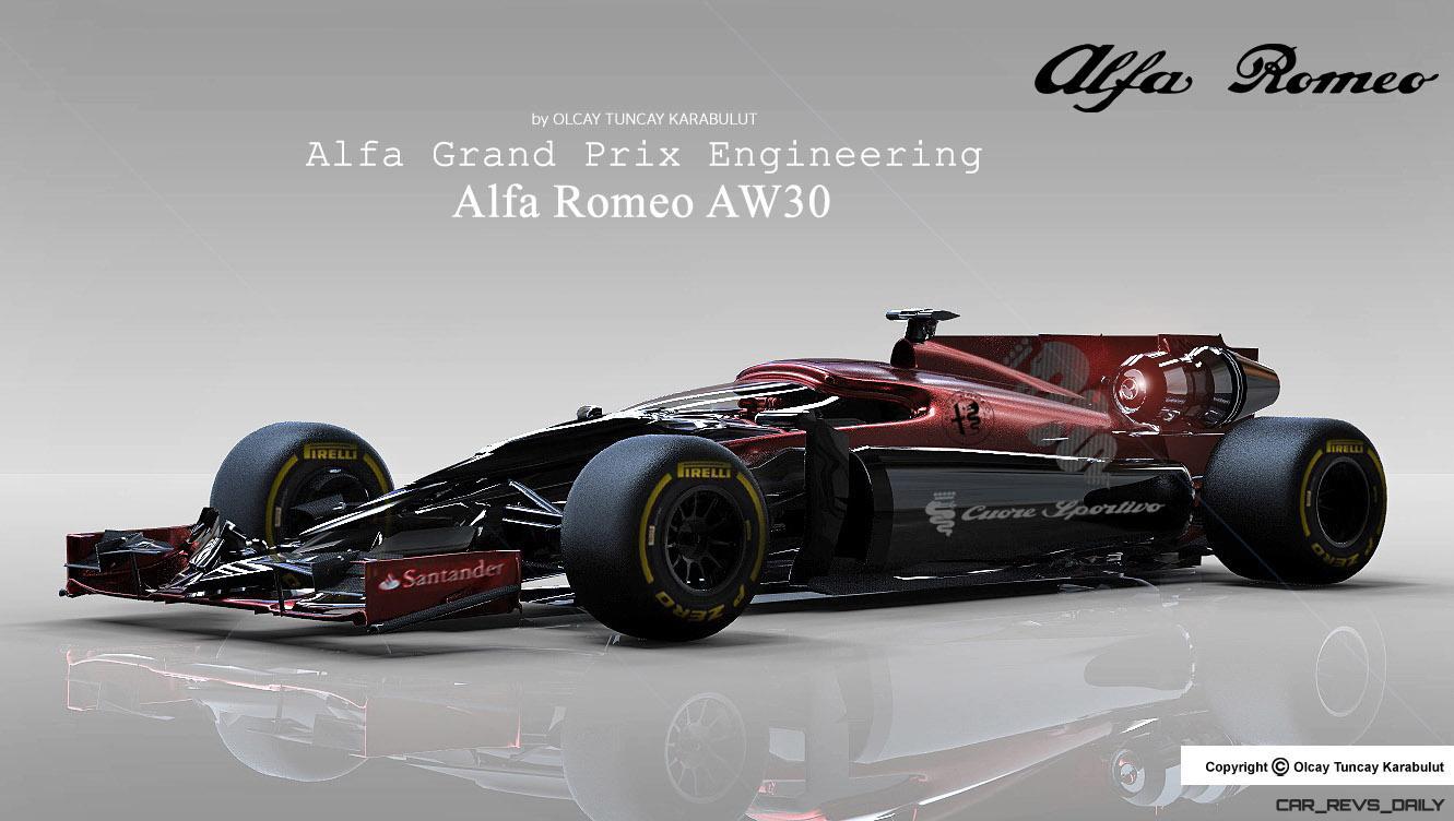 Design Talent Showcase Alfa Romeo Aw30 By Olcay Tuncay