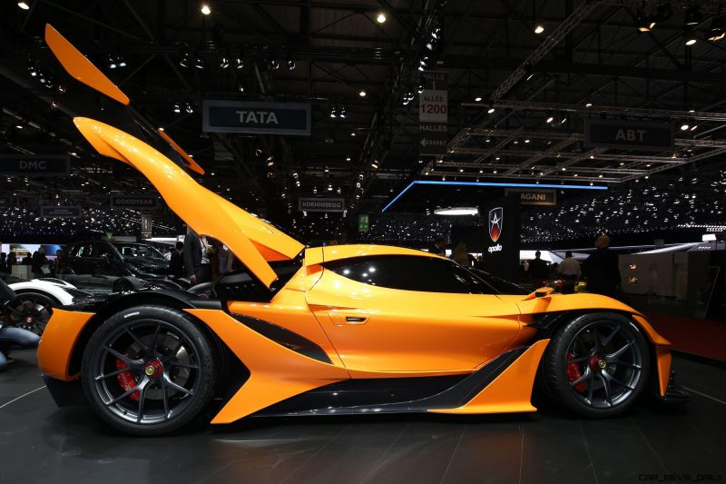 Apollo Arrow Geneva Hypercar 4