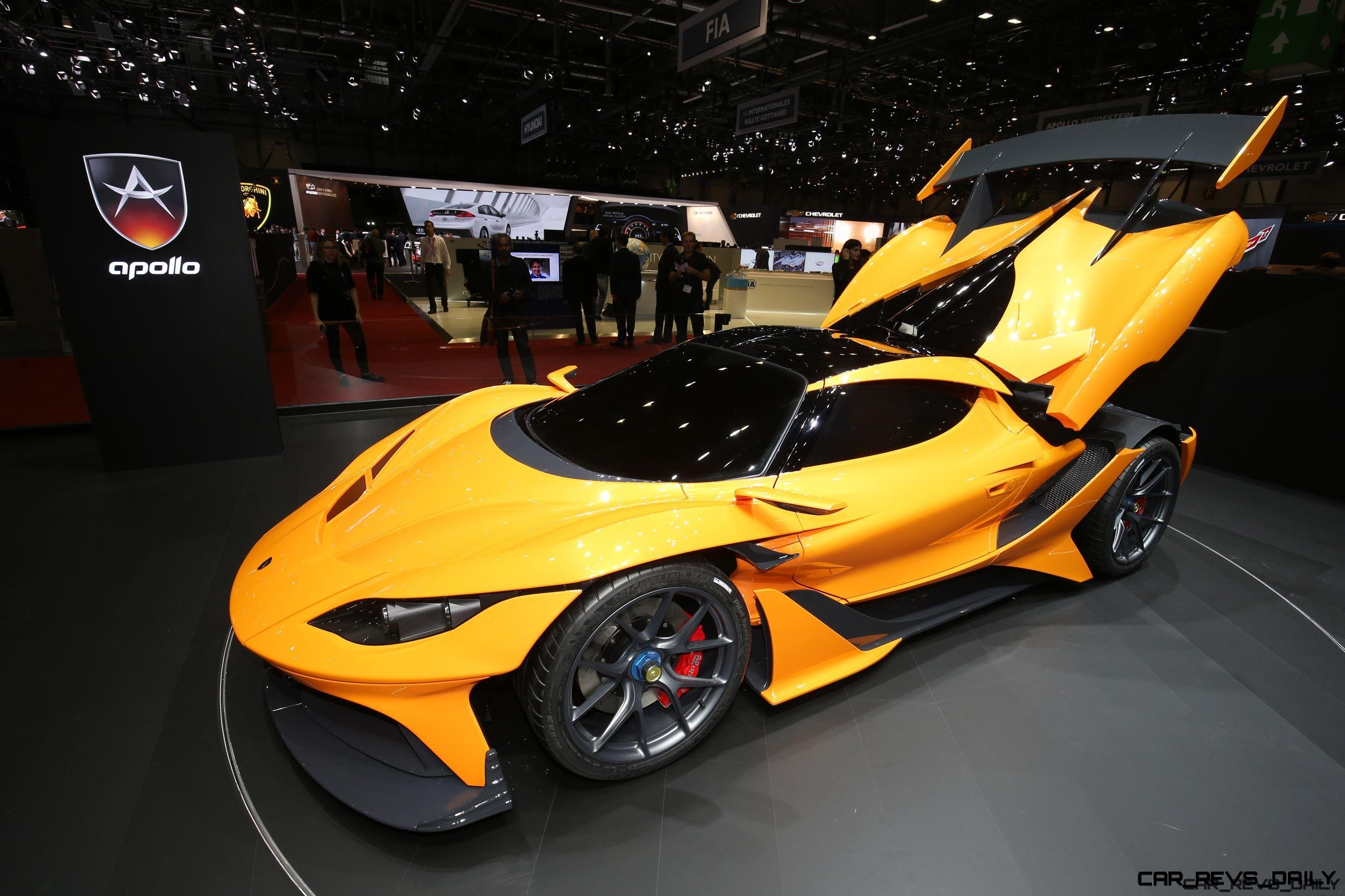 Apollo Arrow Geneva Hypercar 8