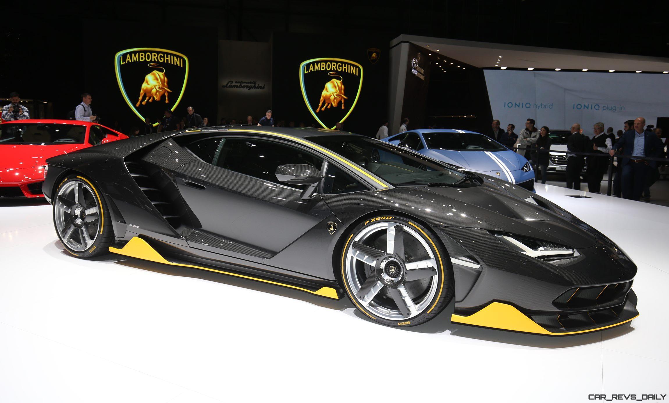 Design Analysis - 2017 Lamborghini CENTENARIO + 20 ...