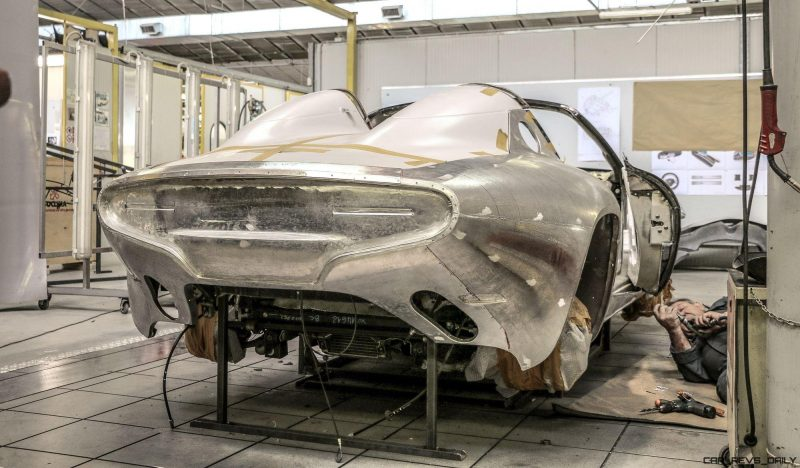 Disco VOlante Spider by TOURING Superleggera - Construction Process 9