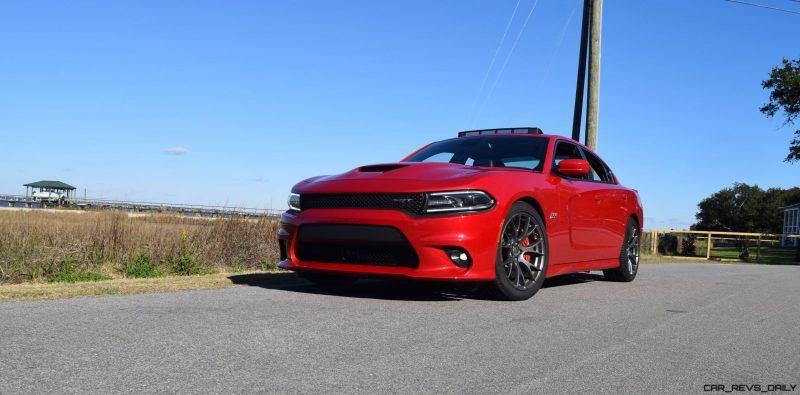 HD Road Test Review - 2016 Dodge Charger SRT392 46