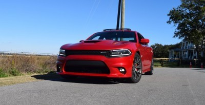 HD Road Test Review - 2016 Dodge Charger SRT392 47