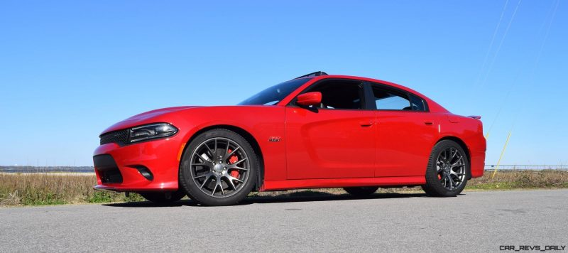 HD Road Test Review - 2016 Dodge Charger SRT392 53