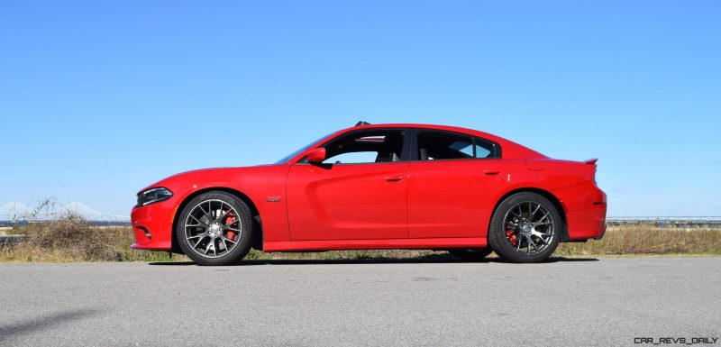 HD Road Test Review - 2016 Dodge Charger SRT392 56