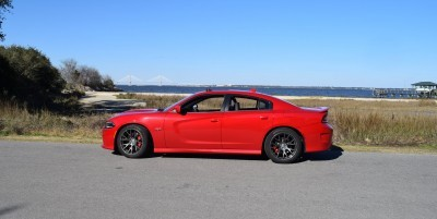HD Road Test Review - 2016 Dodge Charger SRT392 57