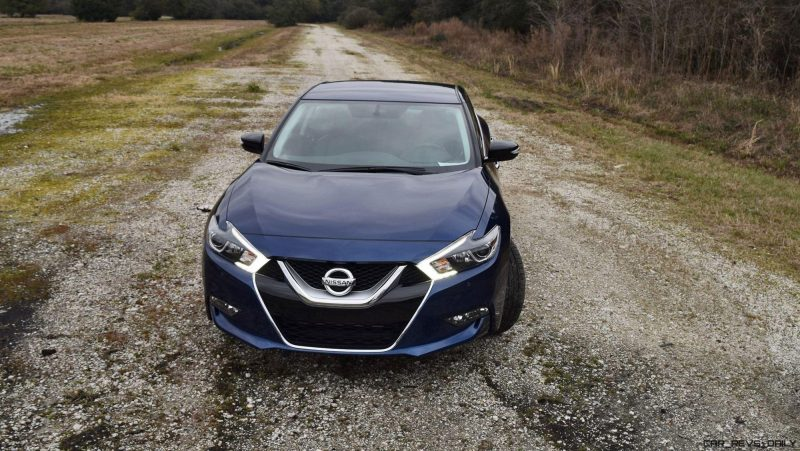 HD Road Test Review - 2016 Nissan Maxima SR 10
