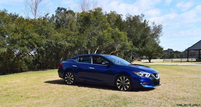 HD Road Test Review - 2016 Nissan Maxima SR 27