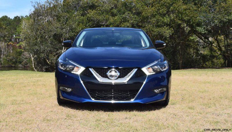 HD Road Test Review - 2016 Nissan Maxima SR 34