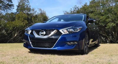 HD Road Test Review - 2016 Nissan Maxima SR 40