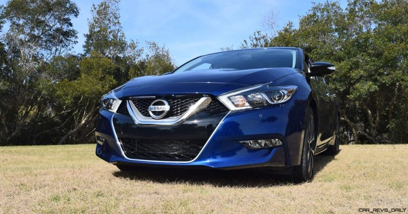 HD Road Test Review - 2016 Nissan Maxima SR 41