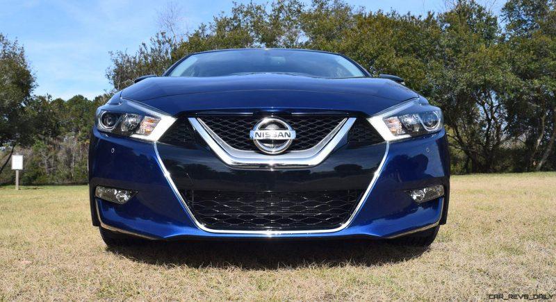 HD Road Test Review - 2016 Nissan Maxima SR 45