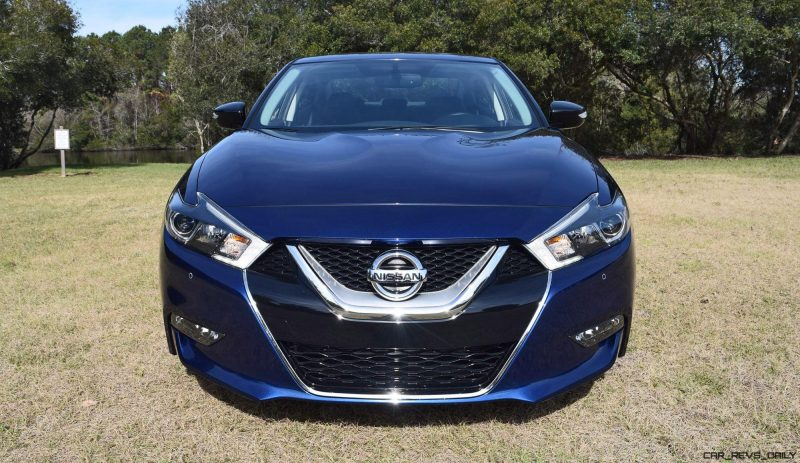 HD Road Test Review - 2016 Nissan Maxima SR 46