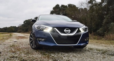 HD Road Test Review - 2016 Nissan Maxima SR 8