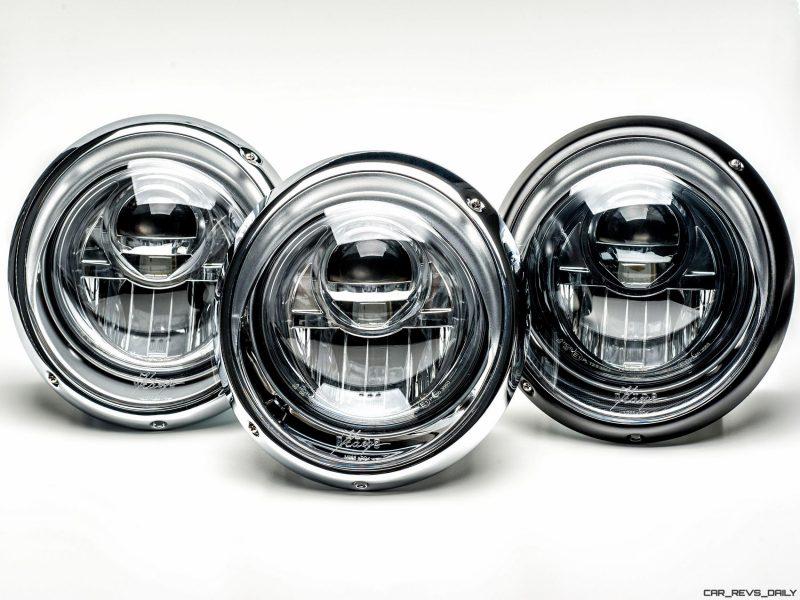 KAEGE.de Reveals LED Projector Headlamps for Classic 911s - Even Carbon Optics and Black Chrome Bezels!