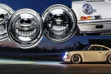 KAEGE.de Reveals LED Projector Headlamps for Classic 911s - Even Carbon Optics and Black Chrome Bezels!