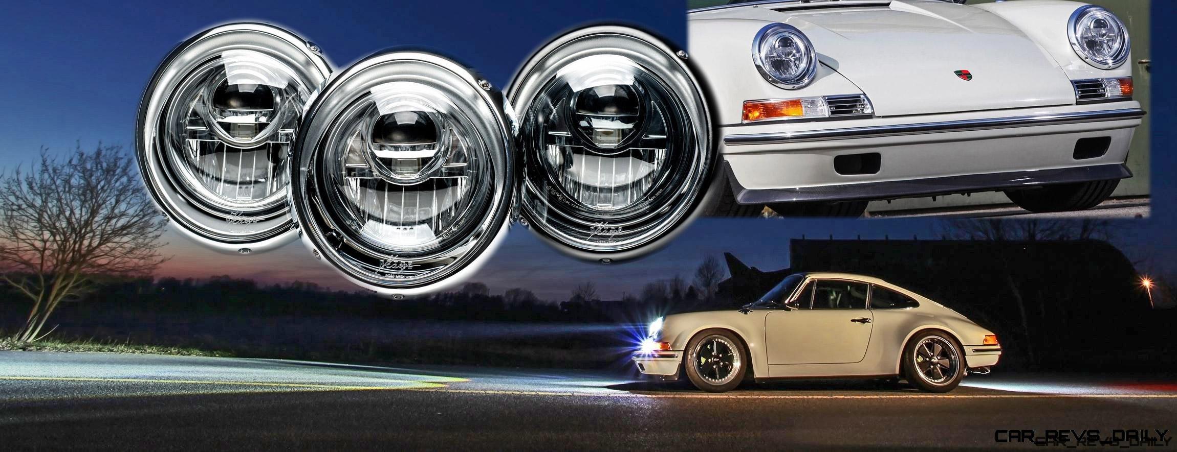 Kaege De Reveals Led Projector Headlamps For Classic 911s