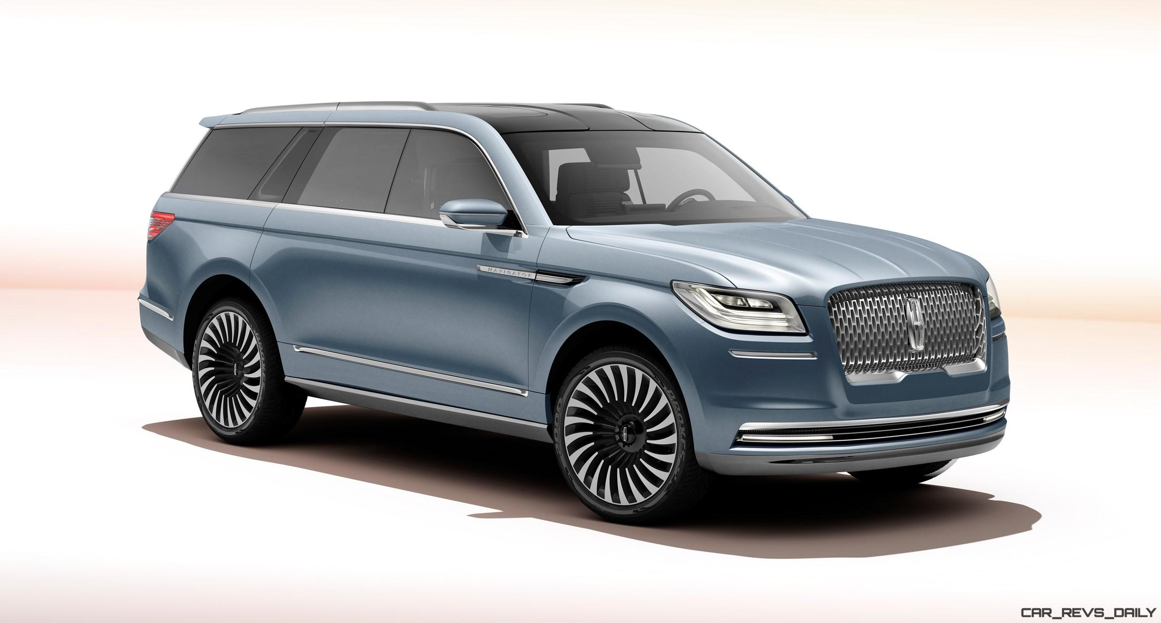 2016 lincoln navigator concept video and live photos car revs. Black Bedroom Furniture Sets. Home Design Ideas