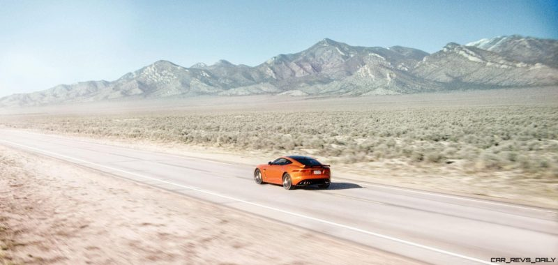 Michelle Rodriguez Roars Past 200MPH in F-Type 18