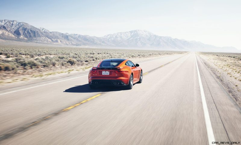 Michelle Rodriguez Roars Past 200MPH in F-Type 3