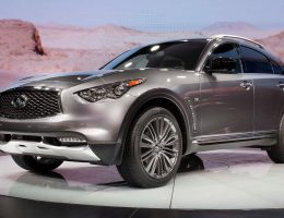 2017 Infiniti QX70 Limited – Live from New York