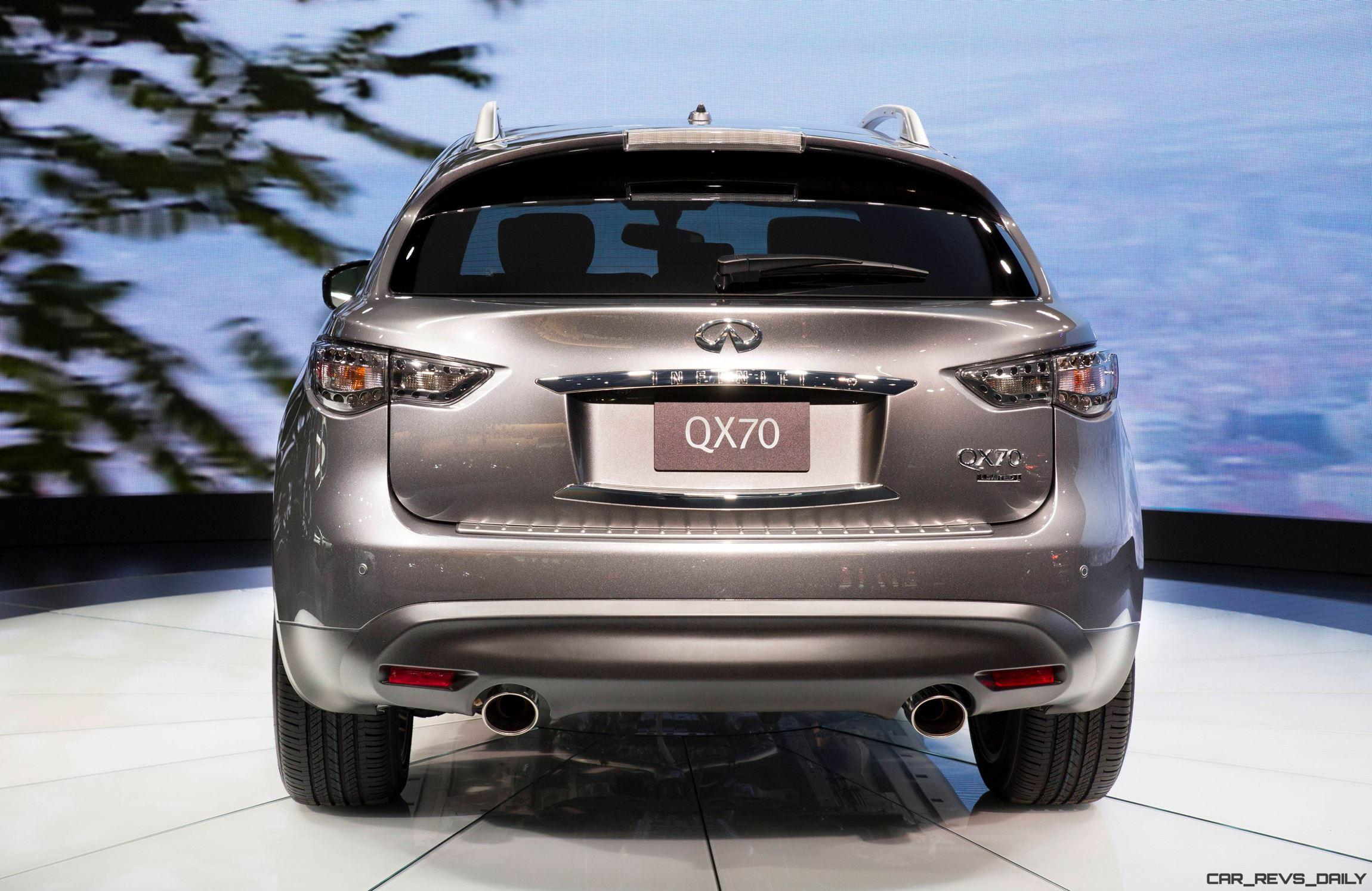 Infinity For Sale >> 2017 Infiniti QX70 Limited - Live from New York » CAR SHOPPING