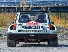 RM Monaco 2016 – 1982 Renault 5 Turbo Group 4 Rally Car