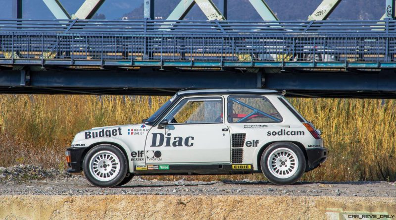 RM Monaco 2016 - 1982 Renault 5 Turbo Group 4 Rally Car 5