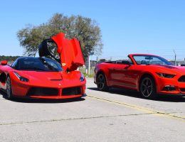 Speed Fleet! 2016 Ford Mustang GT Cali Special + LaFERRARI!