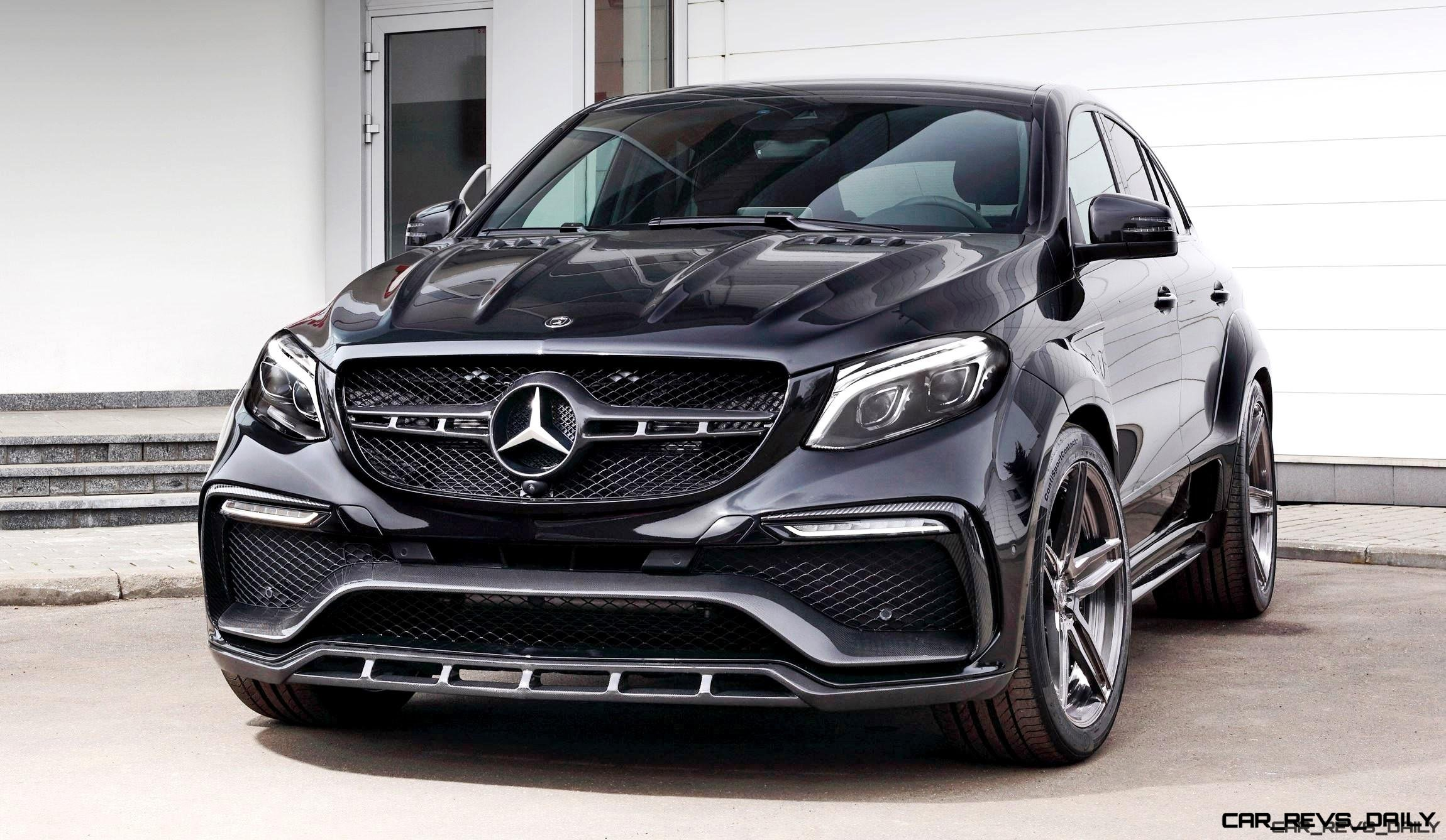 topcar gle inferno coupe wide low and ready to brawl. Black Bedroom Furniture Sets. Home Design Ideas