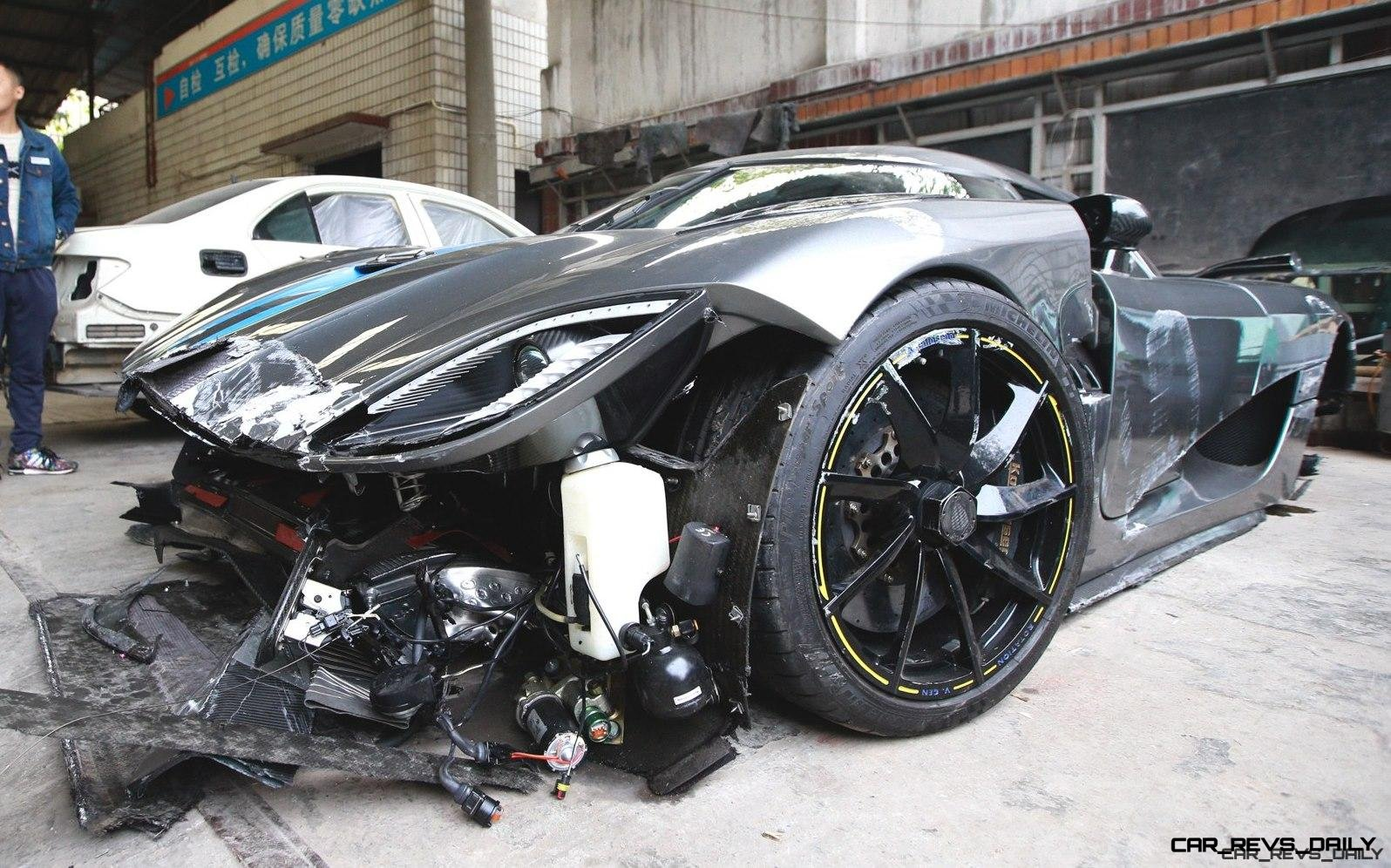 Top 3 Most Expensive Car Crashes in History!