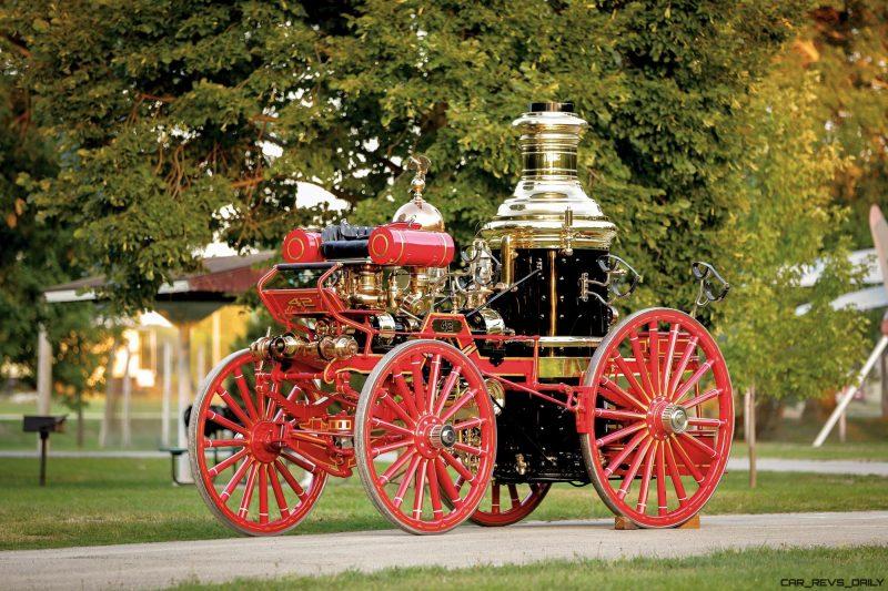 1894 Silsby Fourth Size Horse-Drawn Steam Pumper 1