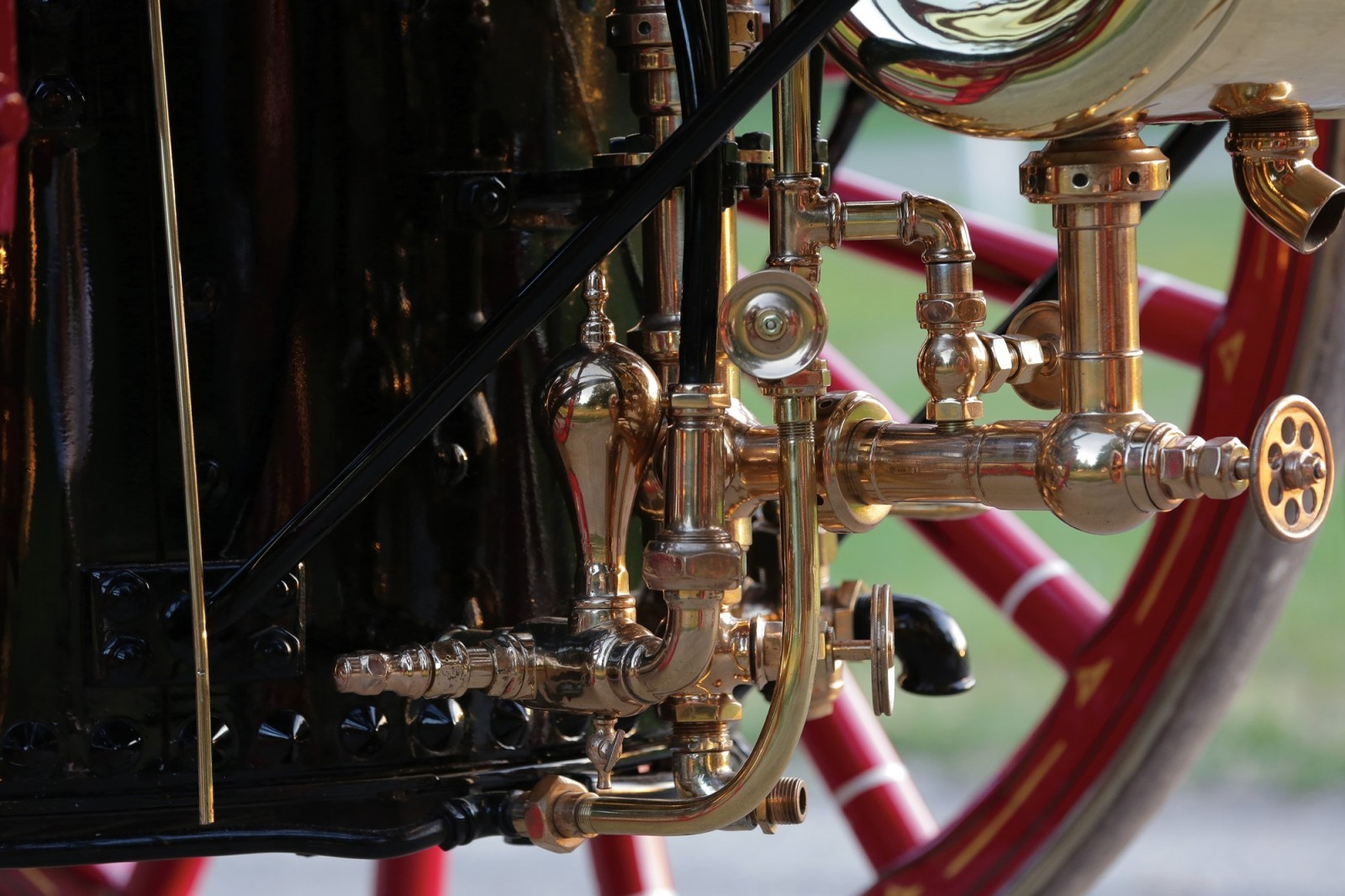 silsby horse drawn steam fire engine rm auctions amelia island  highlights