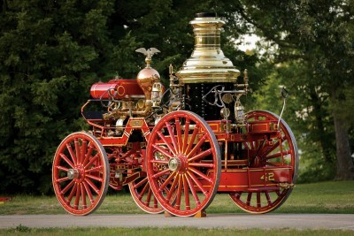 1894 Silsby Fourth Size Horse-Drawn Steam Pumper 2