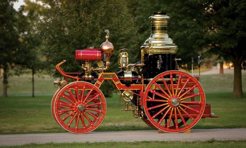 1894 Silsby Fourth Size Horse-Drawn Steam Pumper 4