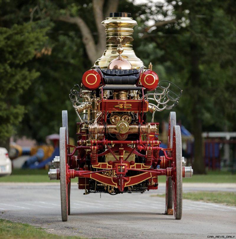 1894 Silsby Fourth Size Horse-Drawn Steam Pumper 6