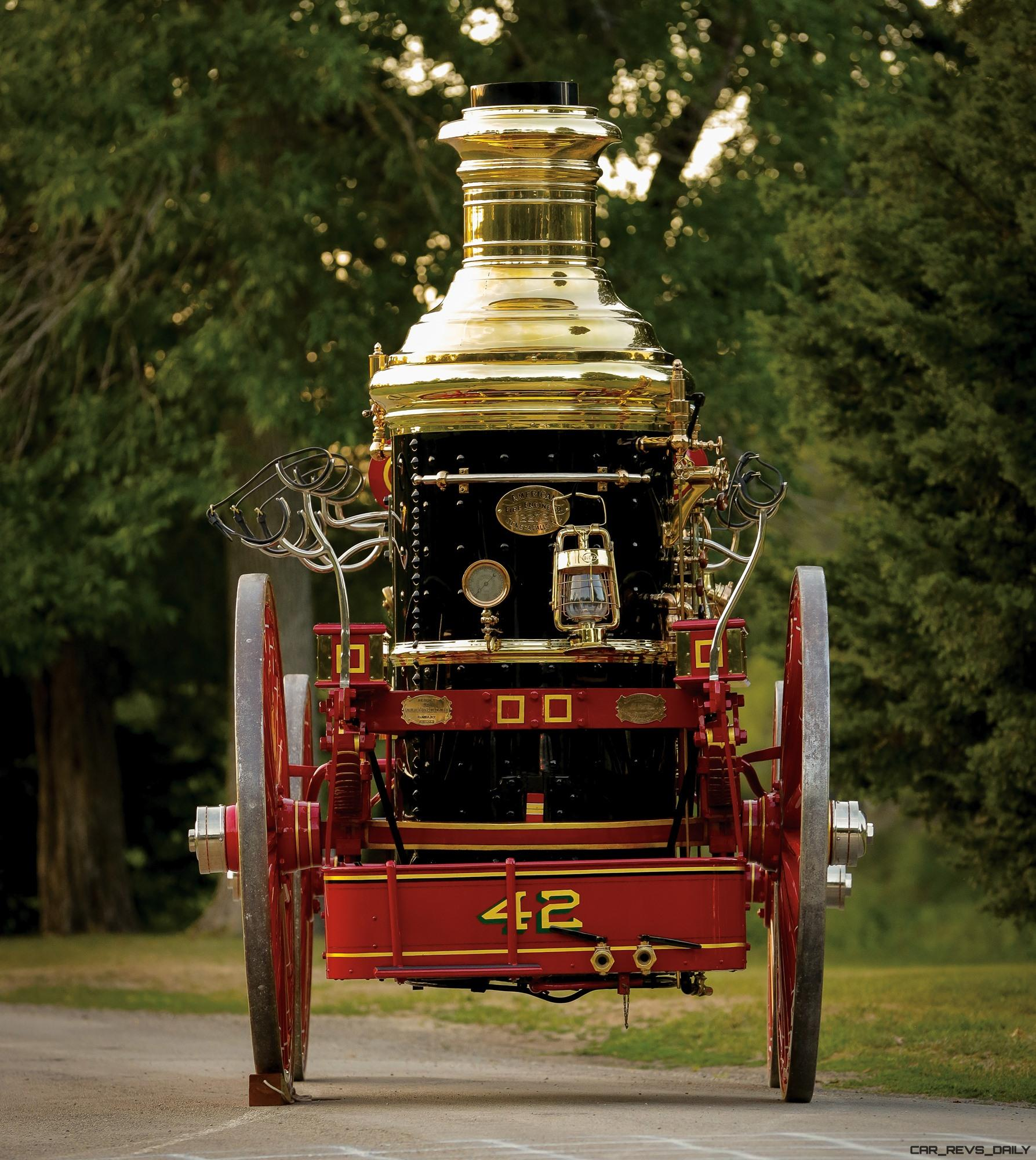 silsby horse drawn steam fire engine rm auctions amelia island  highlights car shopping